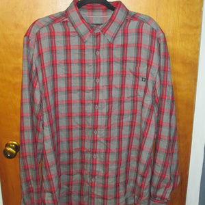 Marmot Plaid Button Front L/S Shirt L